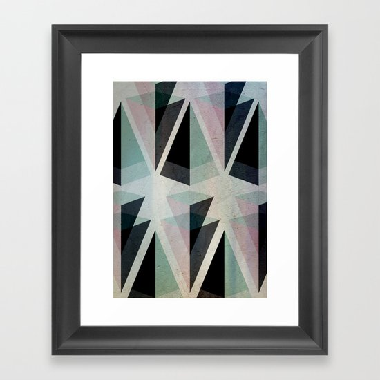Solids Invasion Framed Art Print
