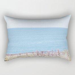 Travel photography Palos Verdes Ocean V The view Rectangular Pillow
