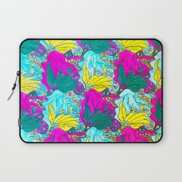 The Alligator Grins / The Peacock Weeps Laptop Sleeve