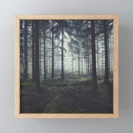 Through The Trees Framed Mini Art Print