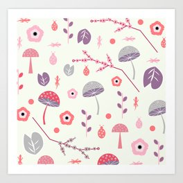 Soft spring magic Art Print