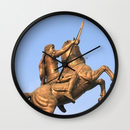 Skopje IV Wall Clock