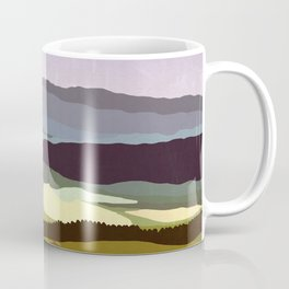 Sunset over the Valley Coffee Mug