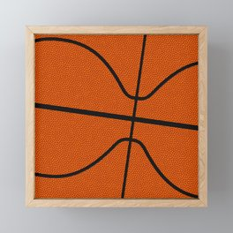 Fantasy Basketball Super Fan Free Throw Framed Mini Art Print