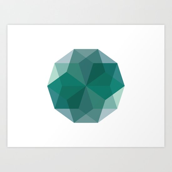 Shapes 011 Art Print