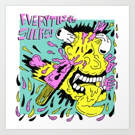 Fright Night X Reel Big Fish Art Print
