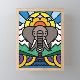 Elephant Framed Mini Art Print