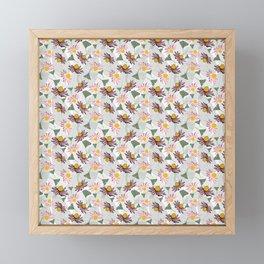 Cone Flowers Framed Mini Art Print
