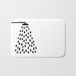 Shower in bathroom Badematte