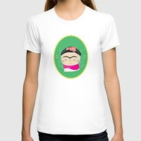 frida kahlo T-shirts featuring frida kahlo by WreckThisGirl