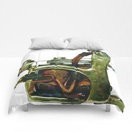 Machine ten Comforters