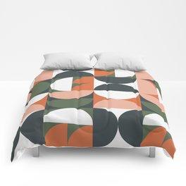 Mid Century Geometric 16 Comforters