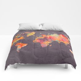world map 67 Comforters