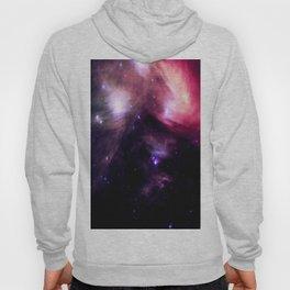 Galaxy : Pleiades Star Cluster nebUlA Purple Pink Hoody