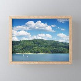 Lake Solina Framed Mini Art Print