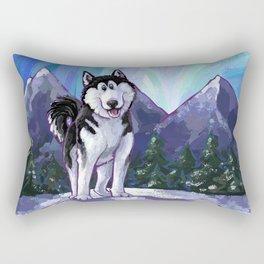 Animal Parade Husky Rectangular Pillow