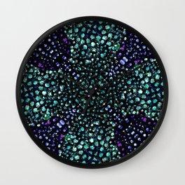 Chic Abstract Print Wall Clock
