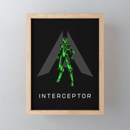 Interceptor Framed Mini Art Print