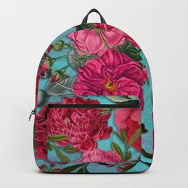 Vintage & Shabby Chic - Summer Tropical Garden I Backpack