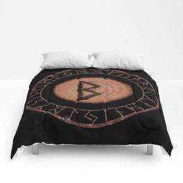 Berkano Elder Futhark Rune secrecy, silence, safety, mature wisdom, dependence, female fertility Comforters