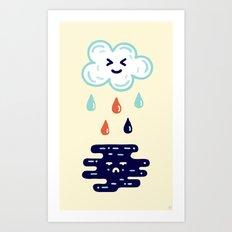 Here Comes The Rain Art Print