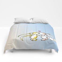 Kissing Bunnies Comforters