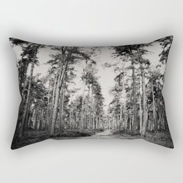 the path through the forest ... Rectangular Pillow