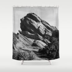 Vasquez Rocks Shower Curtain