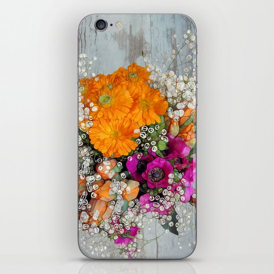 Funky Floral iPhone & iPod Skin