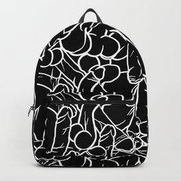 Schlong Song in Black, All the Penis! Backpack