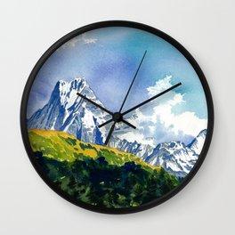 Siva's Abode Wall Clock
