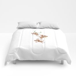 monkey chain Comforters