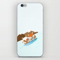 Skiing iPhone & iPod Skin