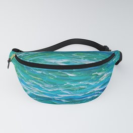 Ocean Waves Etude Fanny Pack