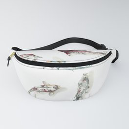 Koi Fish Watercolour Fanny Pack