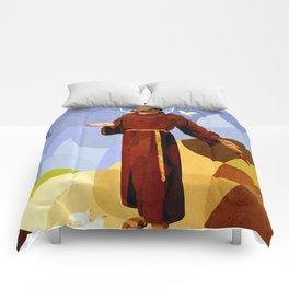 Curves - São Francisco de Assis Comforters