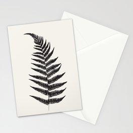 Minimal Fern Leaf Stationery Cards