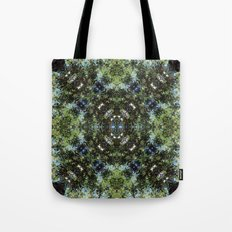 Reflection Kaleidoscope Tote Bag