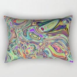 Neural Abstraction #2 Rectangular Pillow