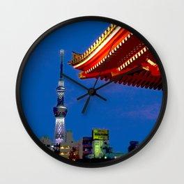 Sight of Sky Tree Wall Clock