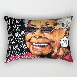 Maya Angelou Rectangular Pillow