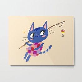 Animal Crossing Rosie Metal Print