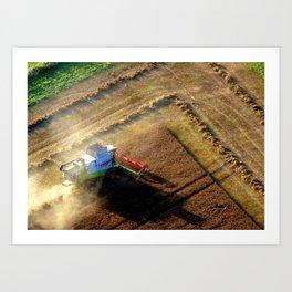 Harvesting Art Print