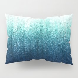 Teal Ombré Pillow Sham