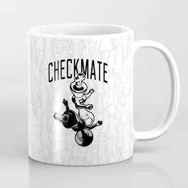 Checkmate Punch Funny Boxing Chess Coffee Mug