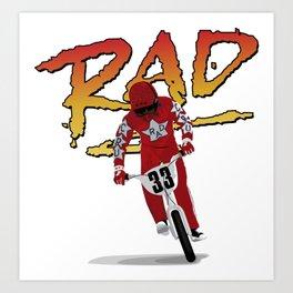 Cru Jones is Rad Art Print