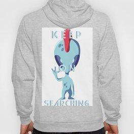 Keep On Searching Hoody