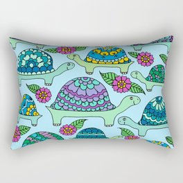 Tortoises Rectangular Pillow
