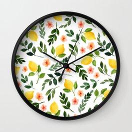 Lemon Grove Wall Clock