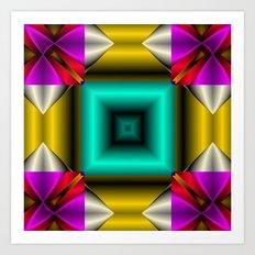 Mandala7 Art Print